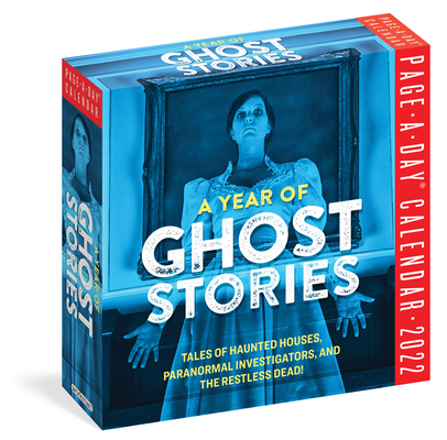 Cover for A Year of Ghost Stories Page-A-Day Calendar 2022