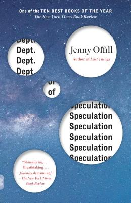 Dept. of Speculation (Vintage Contemporaries) Cover Image