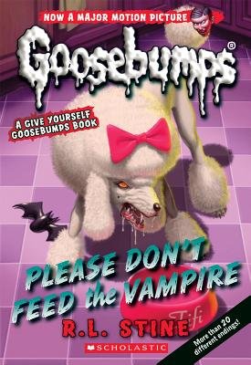 Please Don't Feed the Vampire!: A Give Yourself Goosebumps Book (Classic Goosebumps #32) Cover Image