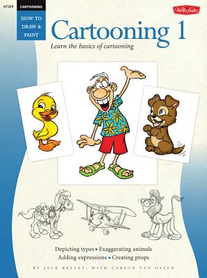 Cartooning 1 Cover