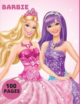 Barbie: Coloring Book for Kids and Adults with Fun, Easy, and Relaxing Cover Image