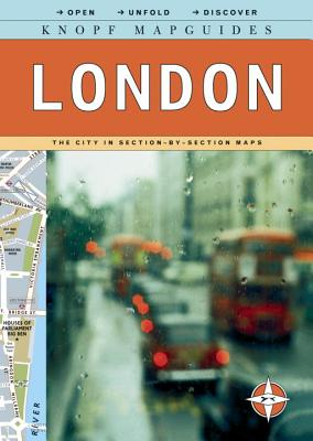 Knopf MapGuides: London: The City in Section-by-Section Maps Cover Image