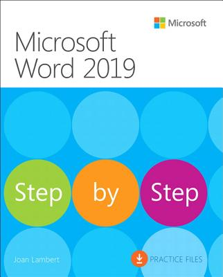 Microsoft Word 2019 Step by Step Cover Image