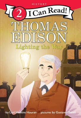 Thomas Edison: Lighting the Way (I Can Read Level 2) Cover Image