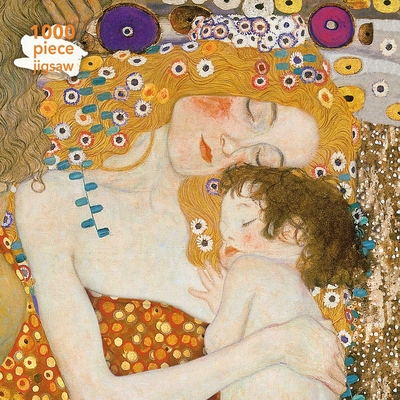 Adult Jigsaw Puzzle Gustav Klimt: Three Ages of Woman: 1000-Piece Jigsaw Puzzles Cover Image
