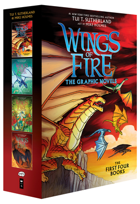 Wings of Fire Graphix Box Set (Books 1-4) Cover Image