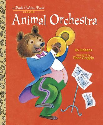Animal Orchestra (Little Golden Book) Cover Image