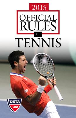 2015 Official Rules of Tennis Cover Image