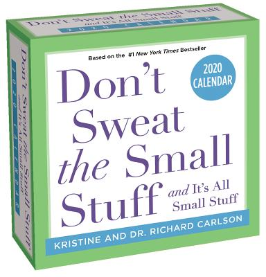Don't Sweat the Small Stuff... 2020 Day-to-Day Calendar Cover Image