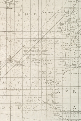 Cover for 1781 Map With Part of Europe, Africa and America - A Poetose Notebook / Journal / Diary (50 pages/25 sheets)