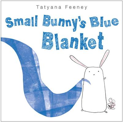 Small Bunny's Blue Blanket Cover