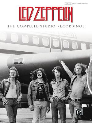 Led Zeppelin -- The Complete Studio Recordings: Authentic Guitar Tab, Hardcover Book Cover Image