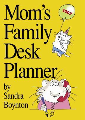 Cover for Mom's Family Desk Planner 2007
