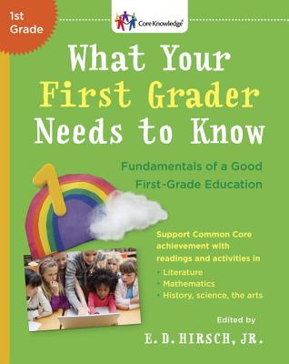 What Your First Grader Needs to Know Cover