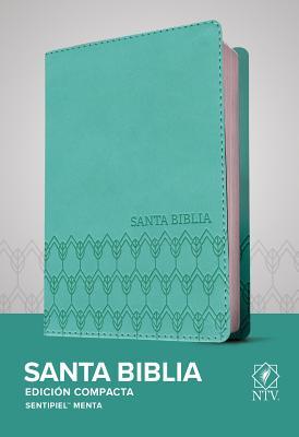 Santa Biblia Ntv, Edición Compacta (Sentipiel, Menta) Cover Image