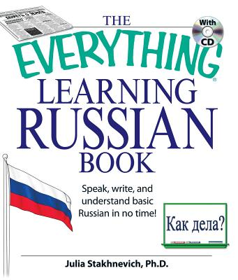 The Everything Learning Russian Book with CD: Speak, write, and understand Russian in no time! (Everything®) Cover Image