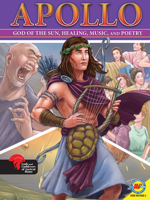 Apollo God of the Sun, Healing, Music, and Poetry Cover Image