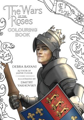 The Wars of the Roses Colouring Book Cover Image