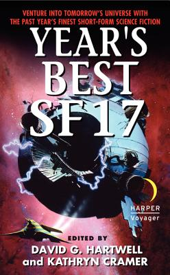 Year's Best SF Cover