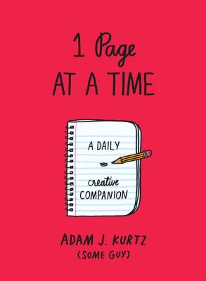 1 Page at a Time (Red): A Daily Creative Companion Cover Image