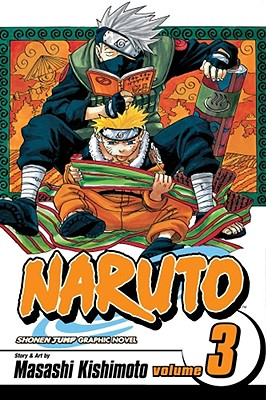 Naruto, Vol. 3 cover image