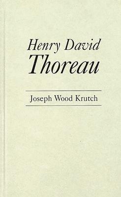 Henry David Thoreau Cover Image