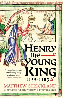 Cover for Henry the Young King, 1155-1183
