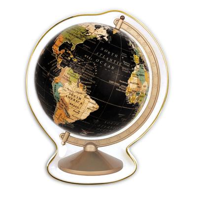 Vintage Globe Shaped Medium Porcelain Tray Cover Image