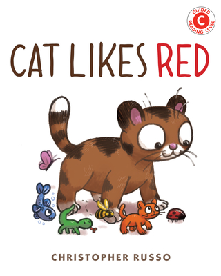 Cover for Cat Likes Red (I Like to Read)