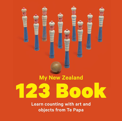 My New Zealand 123 Book Cover Image