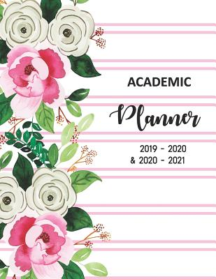 Academic Planner 2019-2020 and 2020-2021: 2 Year academic and 3 year
