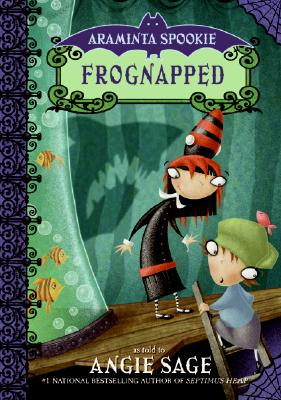Araminta Spookie 3 Frognapped Bookpeople border=