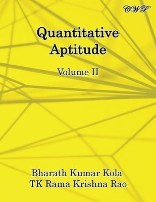 Quantitative Aptitude: Volume II (Mathematics) Cover Image