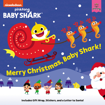 Baby Shark: Merry Christmas, Baby Shark! Cover Image