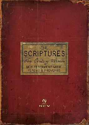 Scriptures New Testament with Psalms and Proverbs-NCV Cover Image