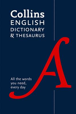 Collins English Dictionary and Thesaurus Cover Image