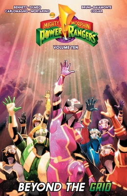 Cover for Mighty Morphin Power Rangers Vol. 10