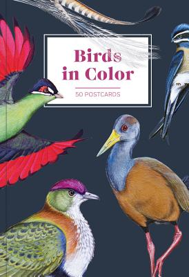 Birds in Color 50 Postcards Cover Image