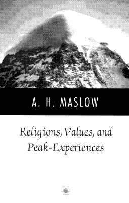 Religions, Values, and Peak-Experiences (Compass) Cover Image