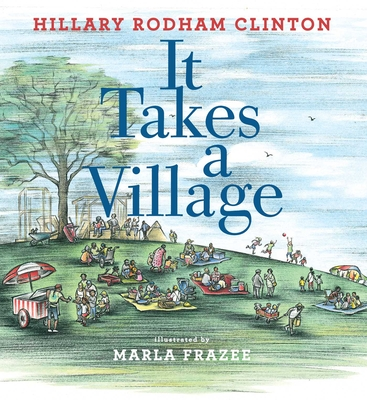 It Takes a Village: Picture Book Cover Image