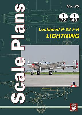 Lockheed P-38 F-H Lightning (Scale Plans #25) Cover Image