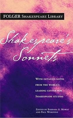 Shakespeare's Sonnets (Folger Shakespeare Library) Cover Image