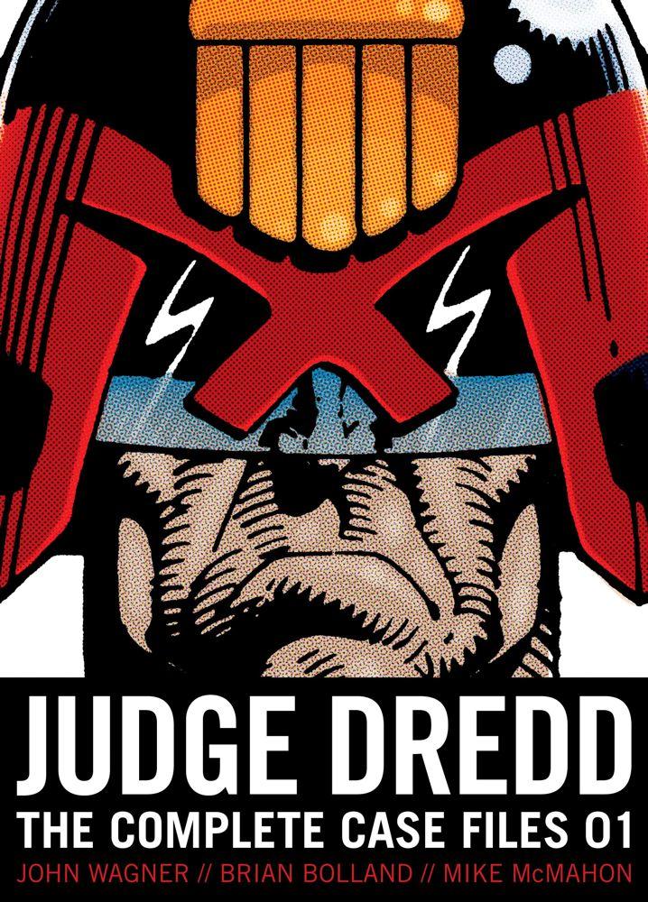 Judge Dredd: The Complete Case Files 01 Cover Image