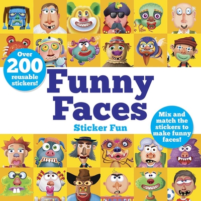 Funny Faces Sticker Fun: Mix and Match the Stickers to Make Funny Faces (Dover Children's Activity Books) Cover Image