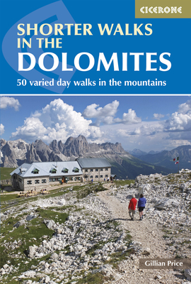 Shorter Walks in the Dolomites Cover Image