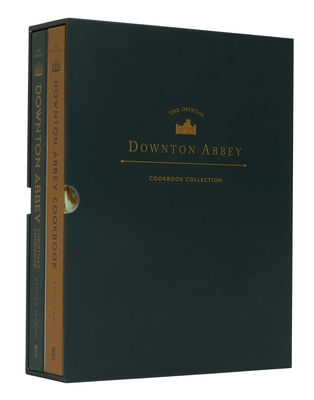 The  Official Downton Abbey Cookbook Collection: Downton Abbey Christmas Cookbook, Downton Abbey Official Cookbook Cover Image