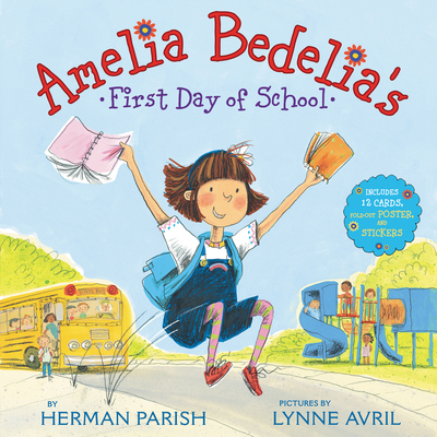 Amelia Bedelia's First Day of School Holiday Cover Image