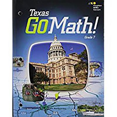 Go Math: Student Interactive Worktext Grade 7 2015 (Holt McDougal Go Math!) Cover Image