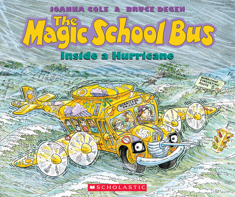 Cover for The Magic School Bus Inside a Hurricane