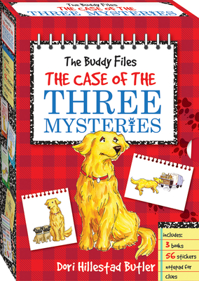 The Buddy Files Boxed Set #1-3 Cover Image